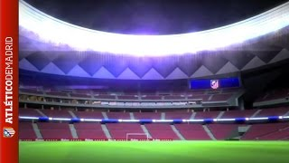 Visita 3D a nuestro nuevo estadio | Video of the new Atlético de Madrid stadium