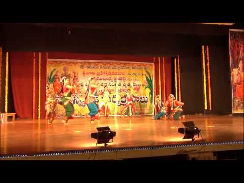 Brahmam okate dance  Tirupati Brahmotsavam -2012