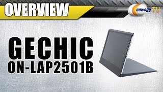 "GeChic On-Lap 2501B 15.6"" LCD Portable Monitor  Overview - Newegg TV"