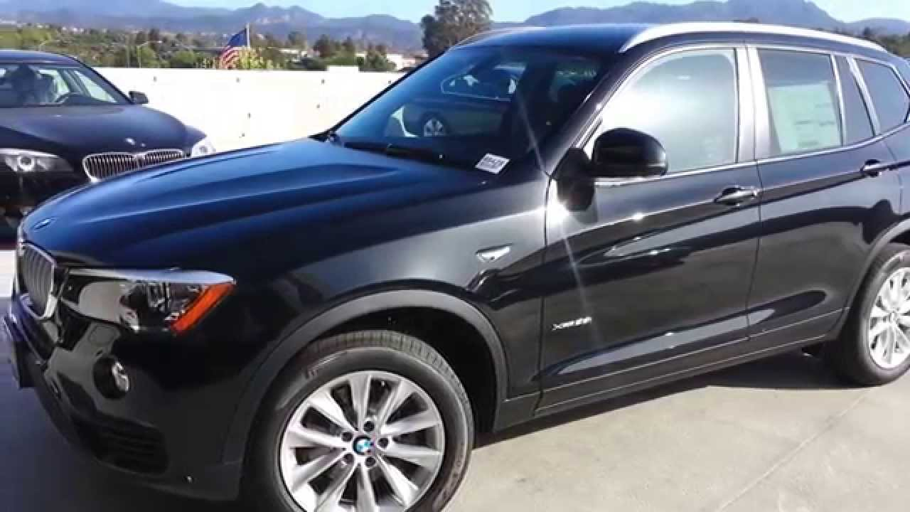 2015 Bmw X3 28i Black Sapphire Xdrive Walk Around Car