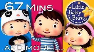 Nursery Rhyme Friends: Mia! | Plus More Children's Songs | 67 Mins Compilation from LittleBabyBum!