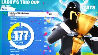 7th PLACE in Lachy's Trio Cup | FaZe Megga + Dubs + Assault