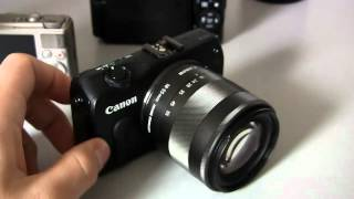 Canon EOS M Mirrorless Camera Hands-On