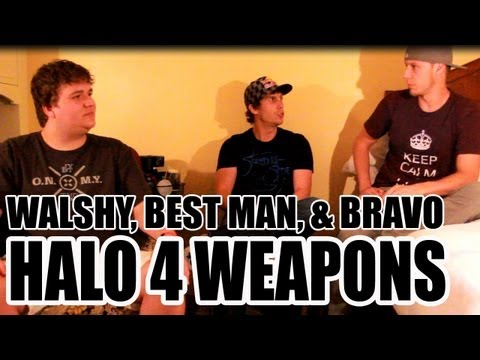 Walshy Halo 4 Weapons Group Discussion - Hands-On w/ Bravo & BesT Man - E3 2012