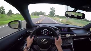 2015 Lexus IS350 F Sport - WR TV POV Test Drive