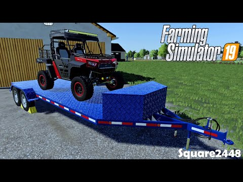 PURCHASED A NEW Utility Trailer! | Xbox One | UTV MODS | OLD Horse Trailer | Homeowner Series | FS19