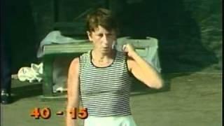 Chris Evert d. Wendy Turnbull - 1977 US Open final (Maureen Connolly featured)