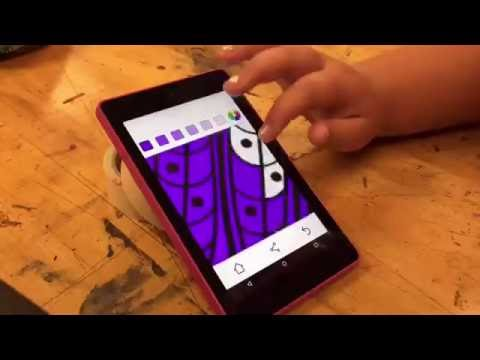 How To Do Tech Art !! TIME LAPSE !! Owl Coloring - IPad Tablet IPhone IPod Cool Fun Easy Diy