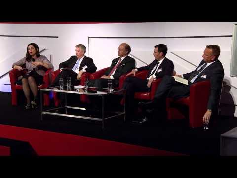 Funding Innovation panel at Global Investment Conference 2013