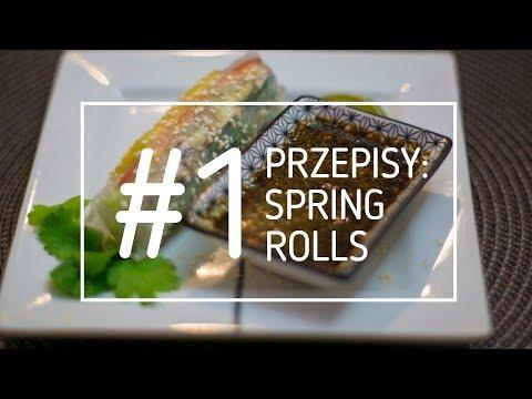 Surowizna: Przepisy Na Surowe Dania - #1 Spring Rolls