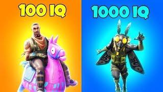 100 IQ WINNER vs 1000 IQ WINNER   Fortnite Battle Royale