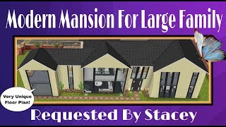 Sims Freeplay Architects ~ Modern Family Mansion Tour 🏠🌹😊
