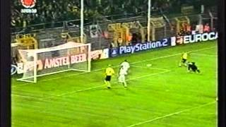 2002 September 25 Borussia Dortmund Germany 2 Auxerre France 1 Champions League