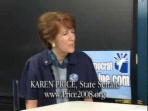 Karen Price Arizona State Senate 2008 Video