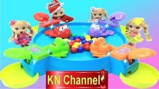 Đồ chơi vui nhộn nhất thế giới ẾCH GIÀNH KẸO Feeding froggies game toy for kid