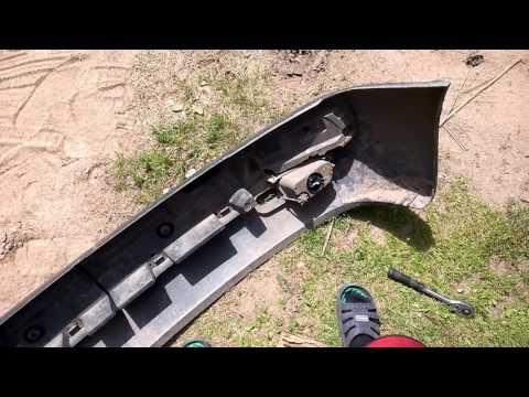 Как установить противотуманые фары в бампер на WV T4.