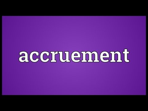 Header of Accruement