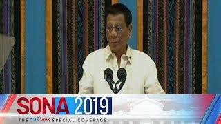 Duterte, pinuntirya ang isyu ng korupsiyon at ilegal na droga   SONA