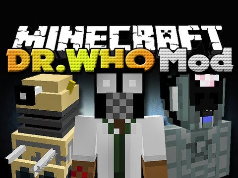 Minecraft Mod Minecraft Mods Dr. Who Mod New Dimensions Mobs and Items