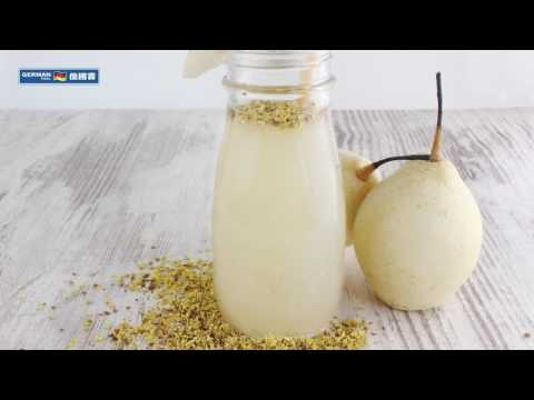 Cold Press Juicer Recipe:Pear Sorbet
