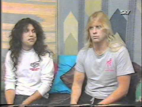 Slayer 1986 Interview (40 of 100+ Interview Series)