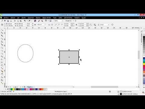 Curso Introducción a CorelDraw X6 - 45 Cambiar Tamaño y Escala en Objetos