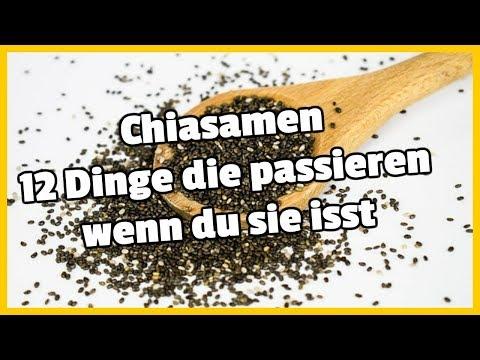 Chiasamen - 12 Dinge die passieren wenn du sie isst