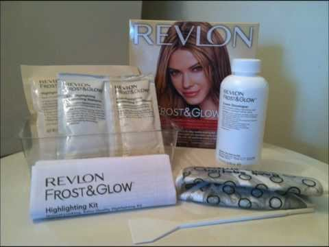 Revlon Frost and Glow Highlighting Kit Review/Tutorial