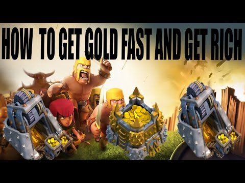How to get Gold Fast and Get Rich in Clash of Clans