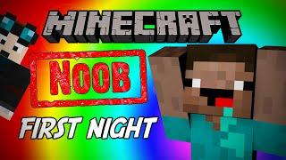 Minecraft Noob: First Night