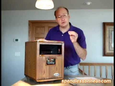 Heat Smart Liberty Plus Infrared Heater product demonstration