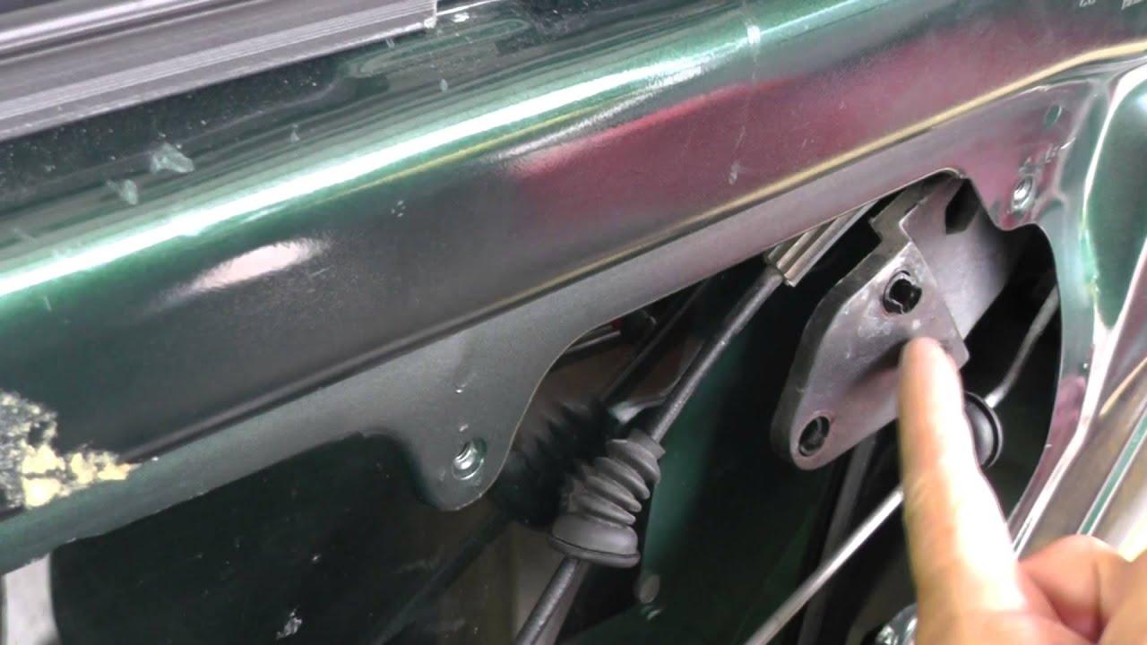 Volkswagen Jetta Removing Rear Door Lock Assy Part 4