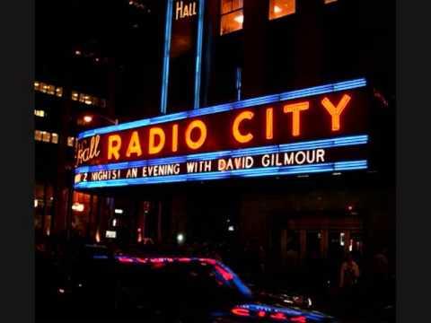 David Gilmour - Live - Radio City Music Hall , Manhattan , New York , NY . April 4-5 , 2006