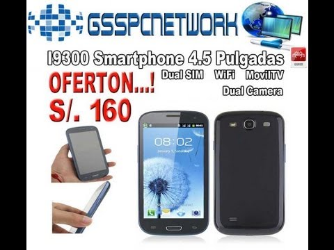 Celular Chino Galaxy S3 I9300 Doble Chip Tv Wifi No Android