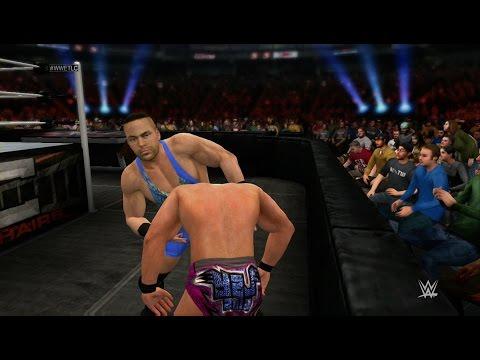 Wwe 2k15 - Rob Van Dam Vs Chris Jericho (tlc Match) 1080p Hd video
