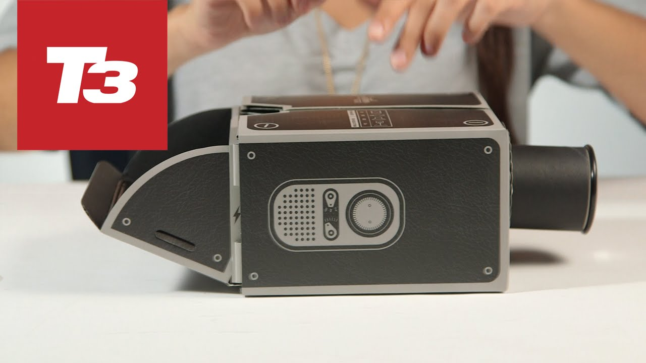 Hands on with the smartphone projector youtube for T mobile mini projector
