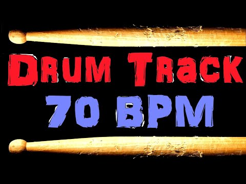Drum Track Blues Beat 70 BPM Bass Guitar Backing Track Free MP3