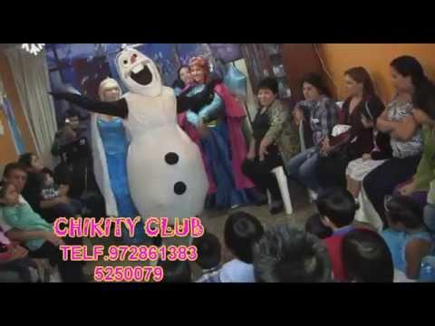 Show infantil FROZEN UNA AVENTURA CONGELADA, Lima - Perú.