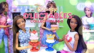 Unbox Daily: Disney D'Lectables Complete Collection 1 & 2 - Toy Review - 4K
