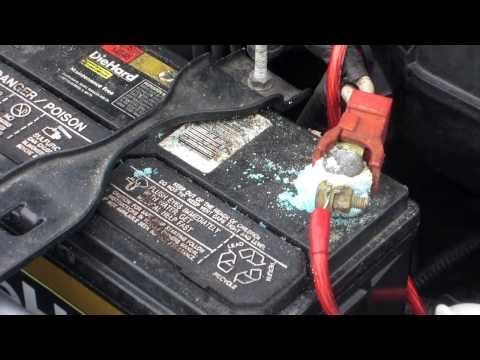 HOW TO REMOVE BATTERY CORROSION FAST AND CHEAP!!!