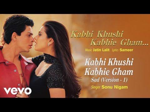 Sad Version 1 - Official Audio Song | Sonu Nigam| Jatin Lalit | Sameer