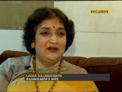 Rajnikanth's wife Latha speaks about the star