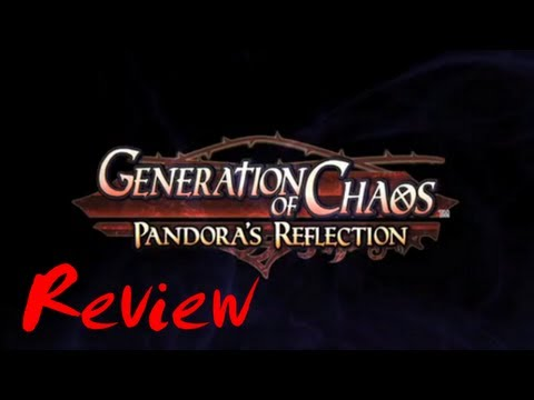 Mondo Cool Reviews: Generation of Chaos: Pandora's Reflection (PSP.PSN)