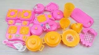 Toy Kitchen Set | Cooking Playset For Children | Kitchen Cooking PlaySet for Girls
