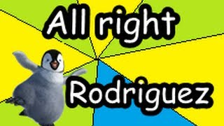 Christopher Cross - All right, Pinguino Rodriguez - Cancion completa HD