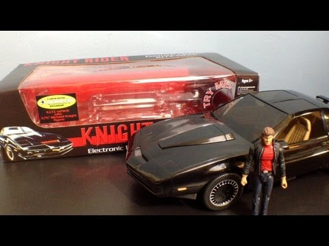 Diamond Select Knight Rider: Kitt 1 15th Scale Electronic Car Review (entertainment Earth Exclusive) video