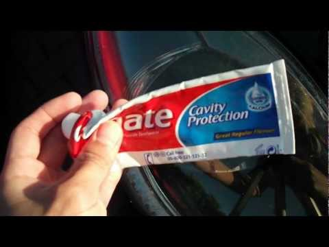 How To Clean Civic Type R Headlights with Toothpaste
