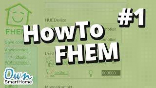 Howto: FHEM Server auf Raspberry einrichten