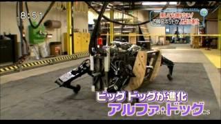 絶対 倒れないロボット BigDog(四脚) & PETMAN(二足)