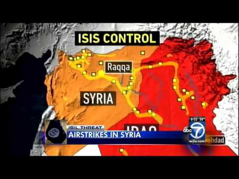 Pentagon: U.S., partners begin airstrikes in Syria against Islamic State militants